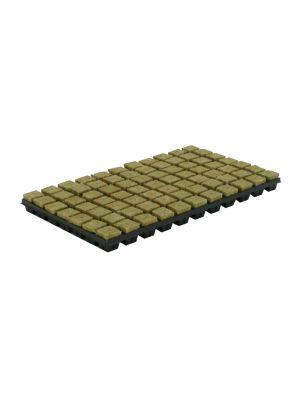 Cultilene steenwoltray 77 stuks 4x4 cm. p/tray
