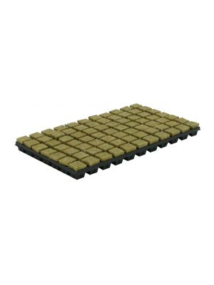 Cultilene steenwoltray 150st. p/tray 2x2 cm.