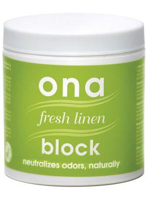 Ona, block 170gr., fresh linen