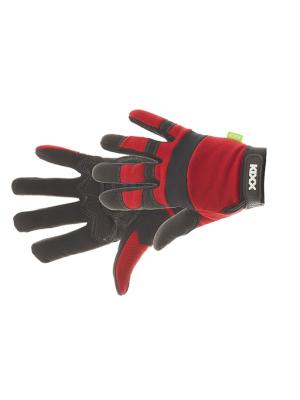 Kixx Handschoen Crude maat 10, Rood/Zwart