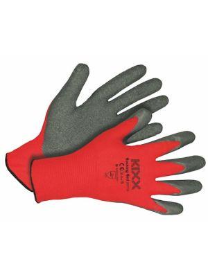 Kixx Handschoen Rocking Red maat 6 Rood