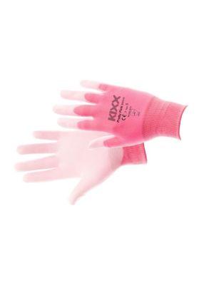 Kixx Handschoen Pretty Pink maat 9 Roze