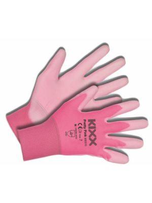 Kixx Handschoen Pretty Pink maat 7 Roze