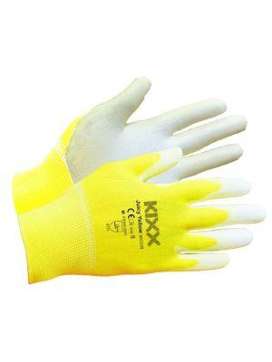 Kixx Handschoen Juicy Yellow maat 8 Geel