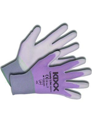 Kixx Handschoen Lovely Lilac maat 8, Paars