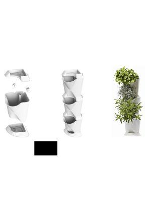 Minigarden corner, zwart (54 x 13 x 13 cm)