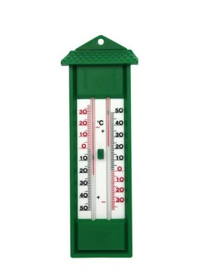 Thermometer min./max. groen