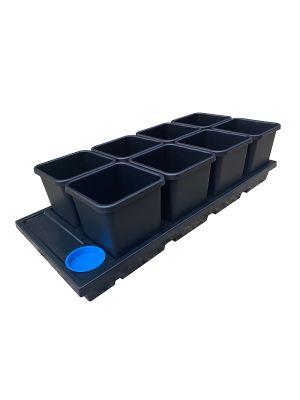 AutoPot Auto8 Tray systeem met 15L potten