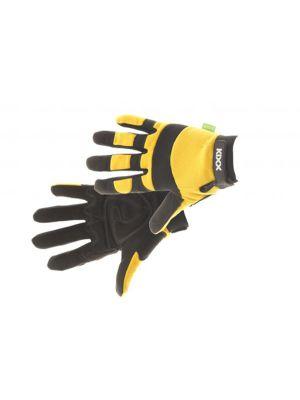 Kixx Handschoen Brick maat 10, Geel/Zwart