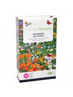Buzzy Friendly Flowers Mix Vlinders Laag 15m2
