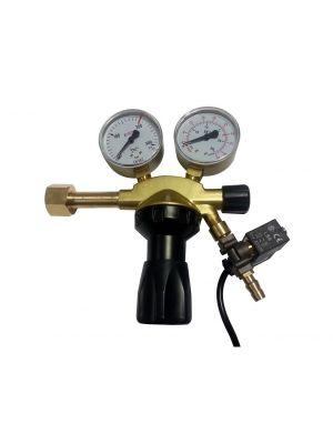 Co2 Drukreduceerventiel met magneetklep pro.