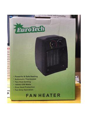 Eurotech Fan Heater/ Kachel