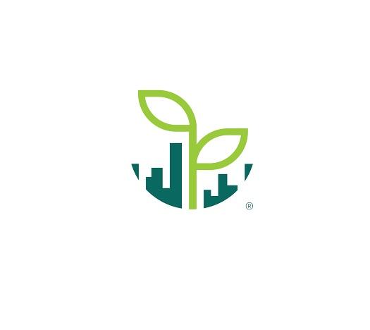 UrbanGreen I-Grow G601A, wit 25 Watt (white led) met logo