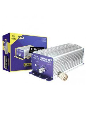 Lumatek 315W 240V CMH Dimbare & Regelbare Digitale Ballast (incl. E40 adaptor)