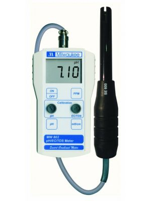 Milwaukee MW802 pH/Ec/TDS combi meter