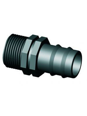PE Insteekkoppeling Tule Buitendraad 16 mm x ½