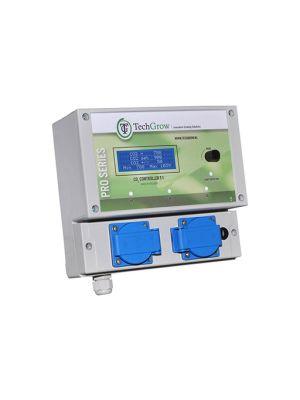 Techgrow T-1 Co2 Controller, 4 Amp, Exclusief sensor