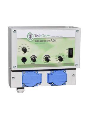 TechGrow Clima Control Basic 4,5A    incl. 5 mtr kabel